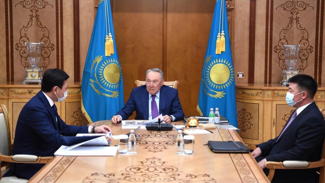 Нурсултан Назарбаев проводит встречу с Алтаем Кульгиновым
