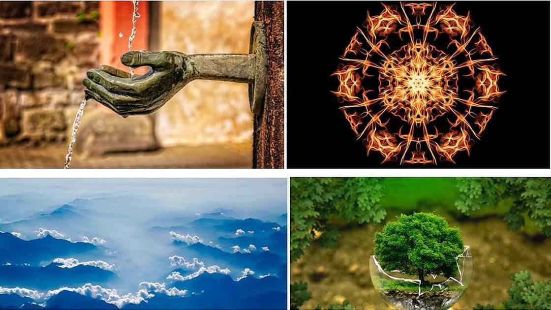 Четыре стихии знаков зодиака