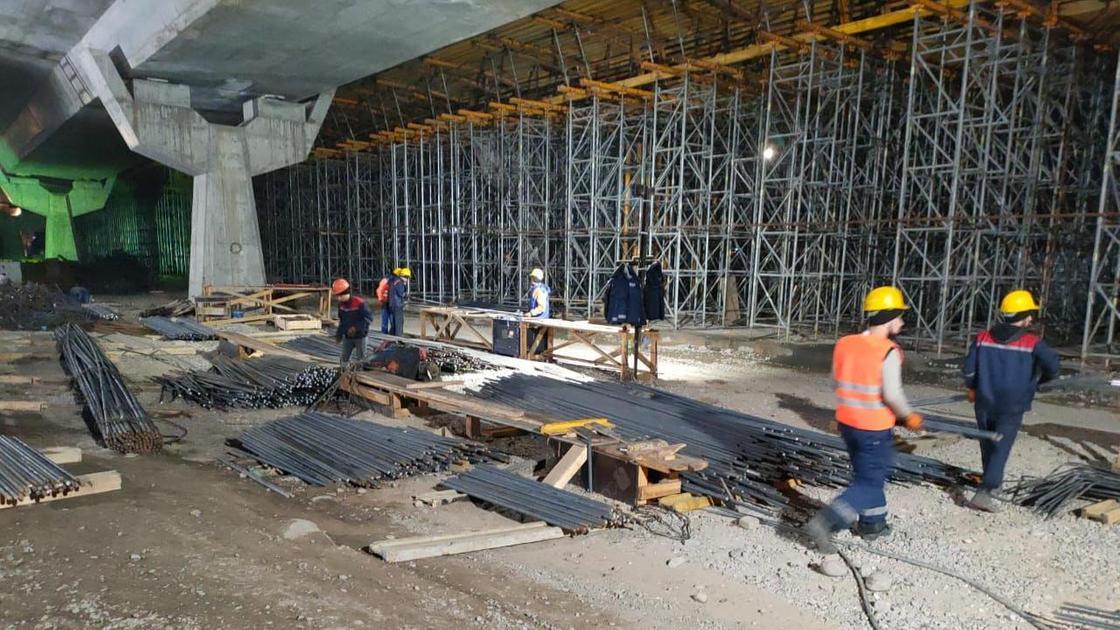 Строительство эстакады