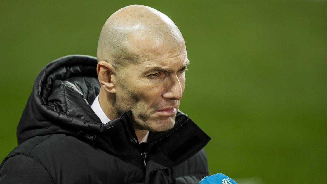 """Тренер """"Реал Мадрид"""" Зинедин Зидан"""