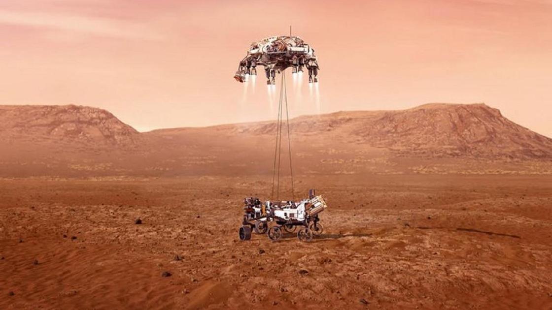 Марсқа марсоход қонды