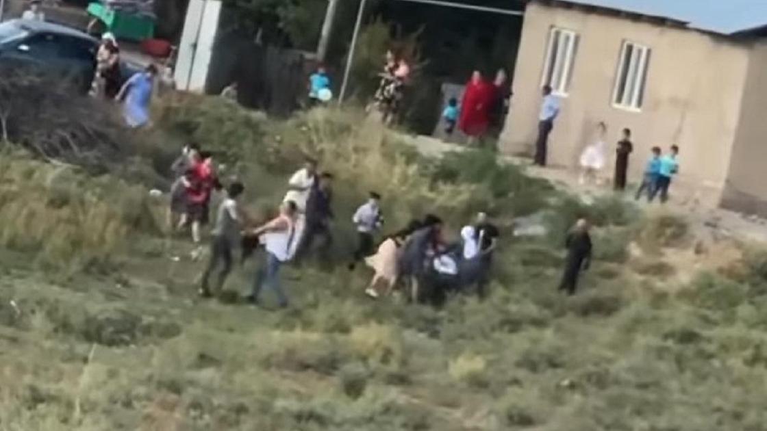 Драка в Алматинской области