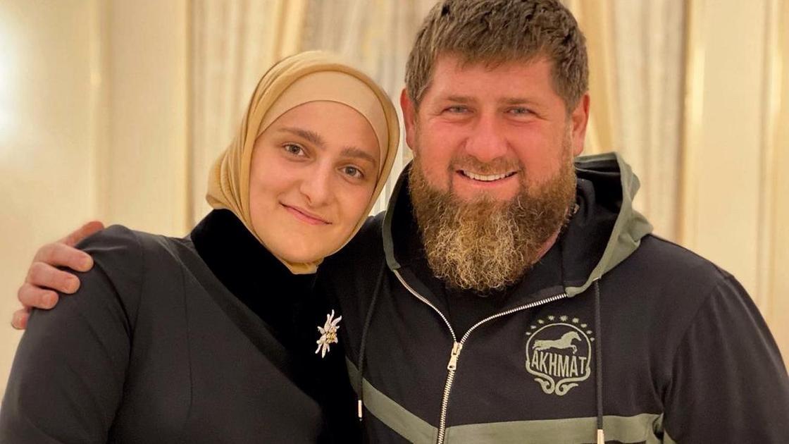 Айшат и Рамзан Кадыровы