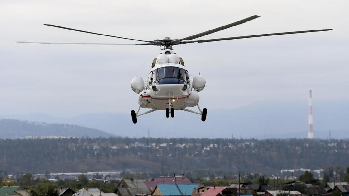 Вертолет Mi-8AMT (Mi-171E)