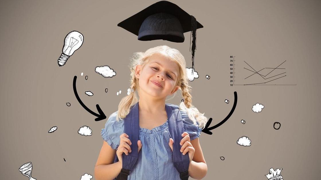 Ученица школы