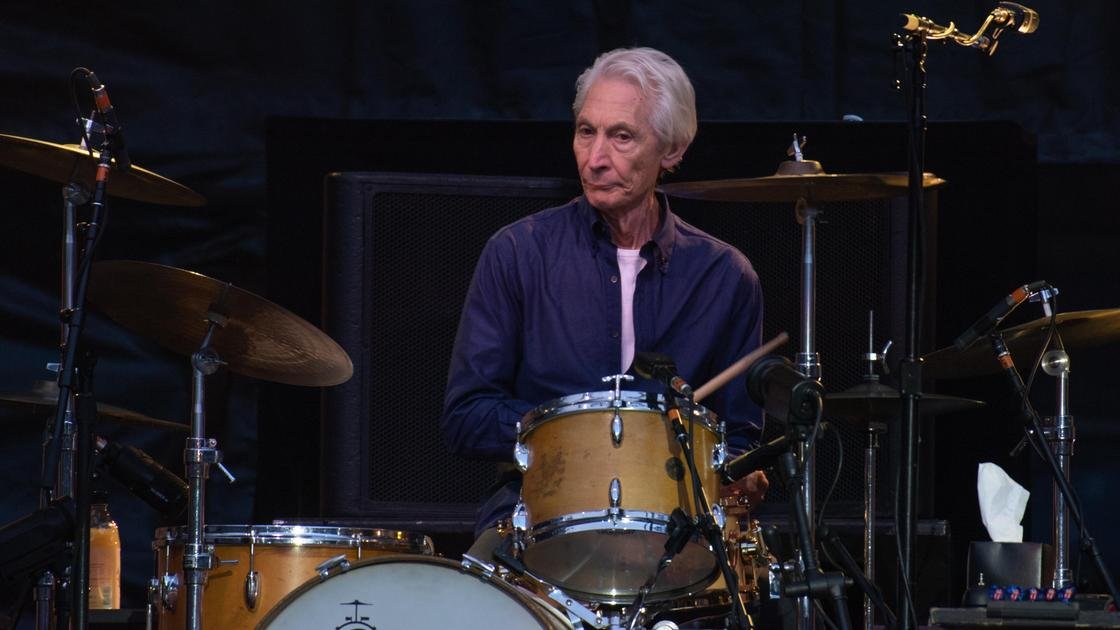 Барабанщик группы The Rolling Stones Чарли Уоттс