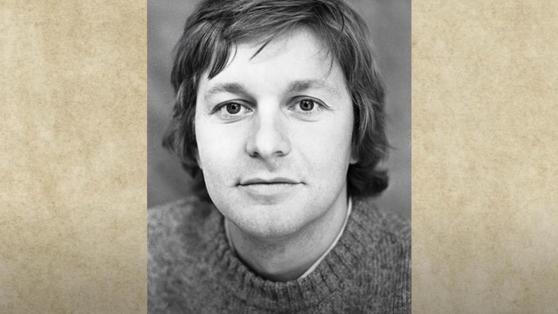Портрет Сергея Колтакова в молодости
