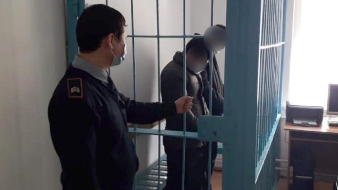 Подозреваемые в Туркестанской области