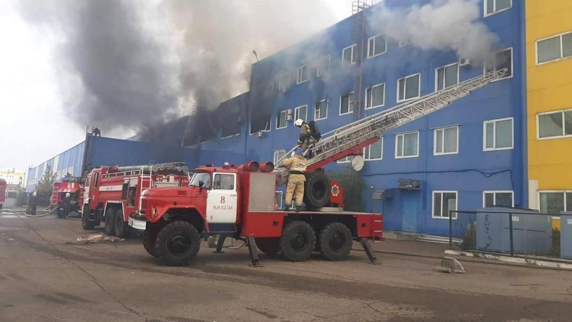 "Пожар в ТЦ ""Астыкжан"""