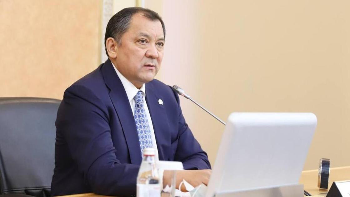 Нурлан Ногаев. Фото пресс-служба акима Мангистауской области