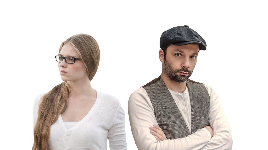 Мужчина и женщина конфликтуют