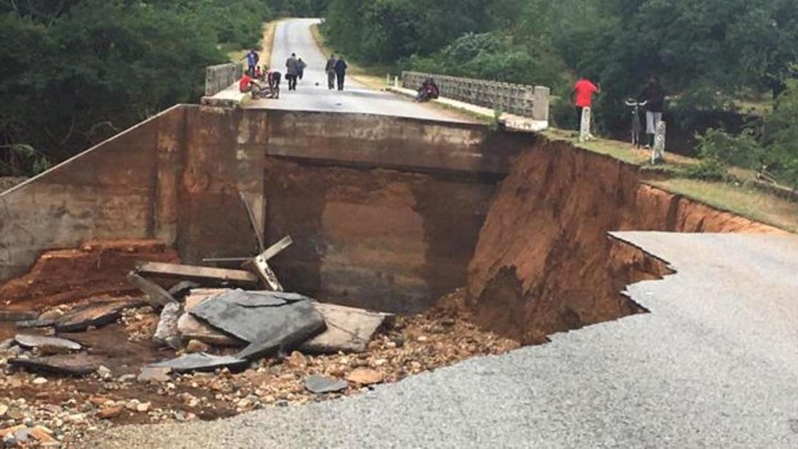 Дорога в Чиманимани оборвалась неожиданно