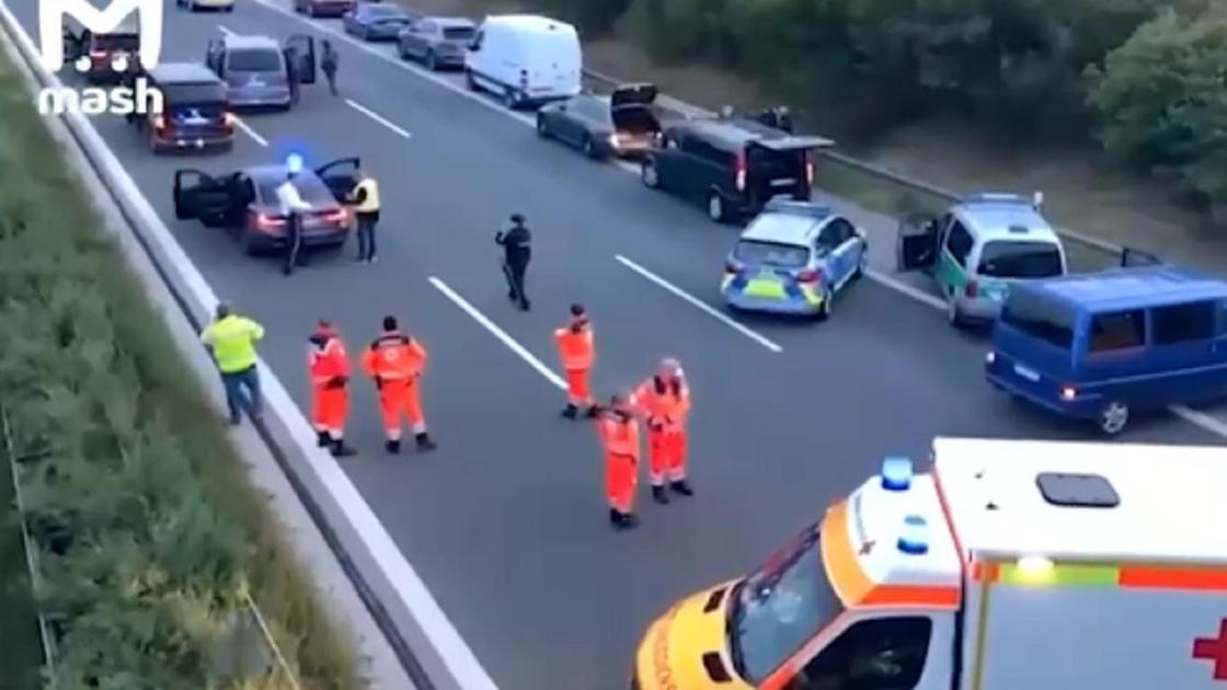 Спасательные работы с места происшествия