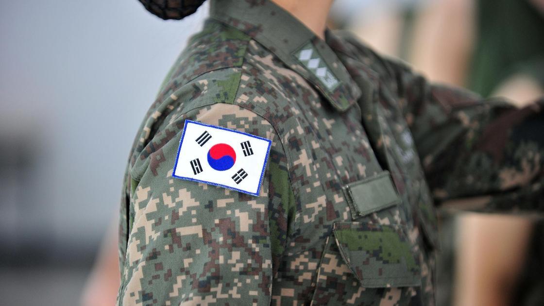 Женская форма южнокорейских военных