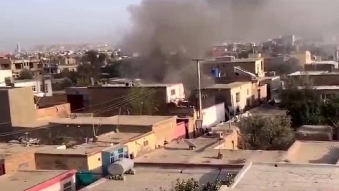 Взрыв в жилом районе Кабула