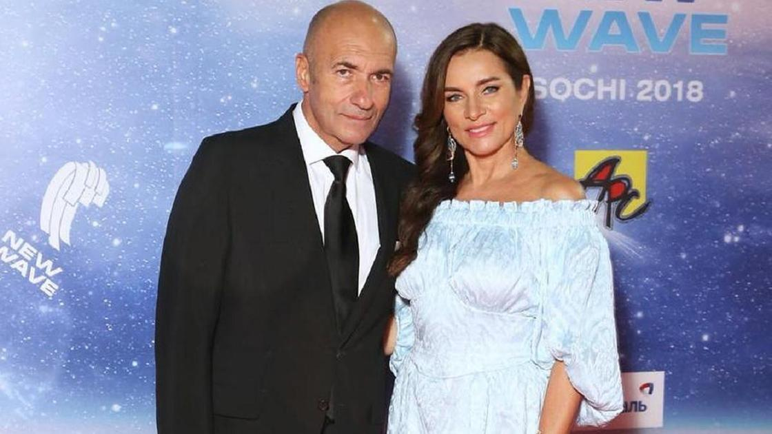 Игорь Крутой с супругой Ольгой