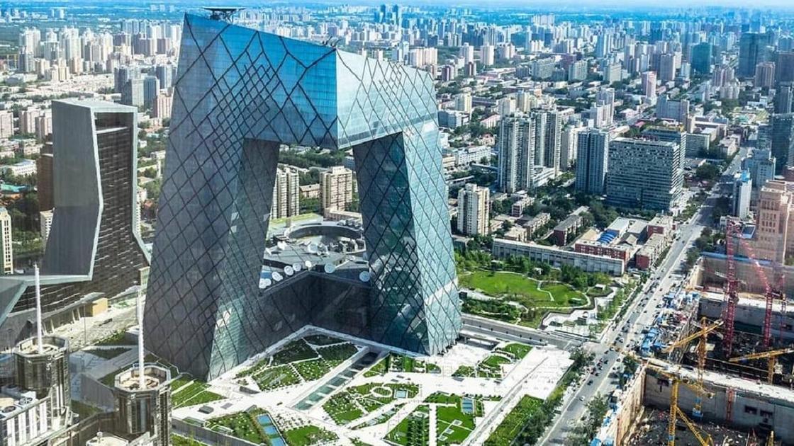 Здание в Пекине