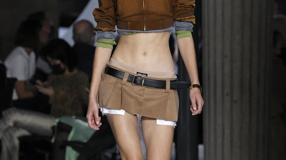Miu Miu и юбка из 2000-х