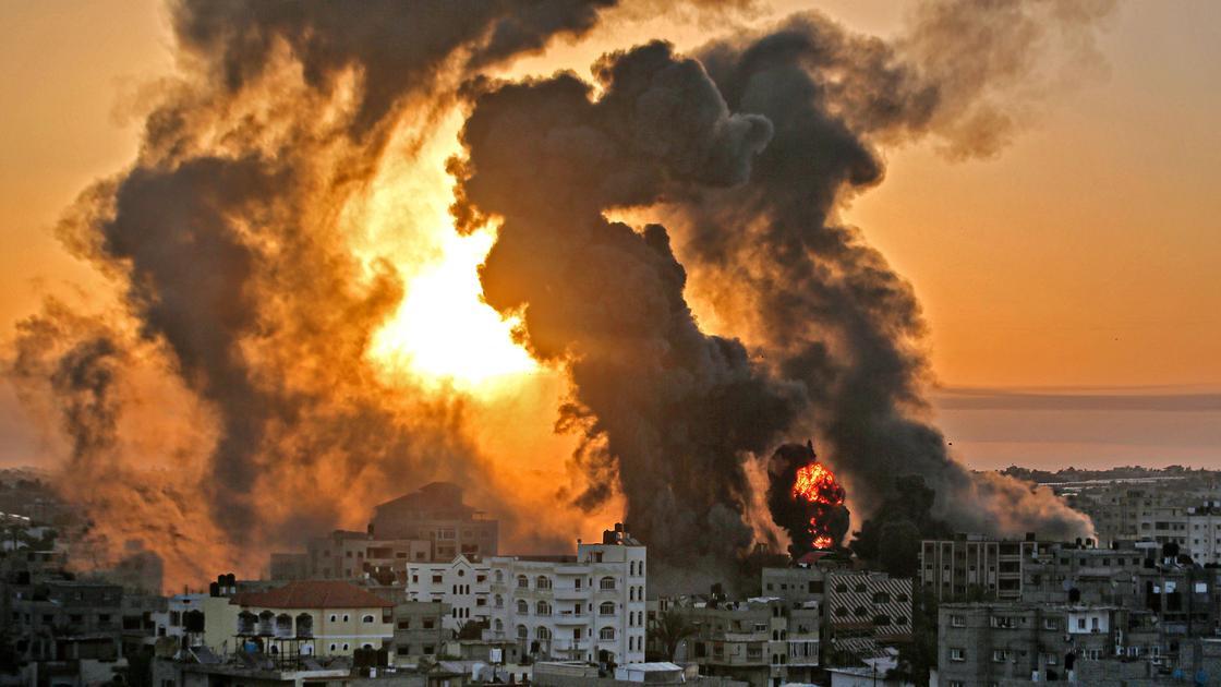 Взрывы в секторе Газа