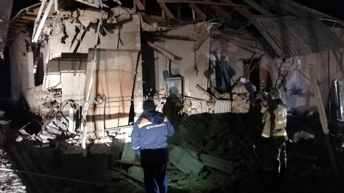 Взрыв в Шымкенте