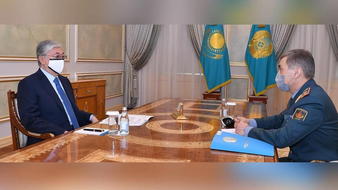 Касым-Жомарт Токаев и Нурлан Ермекбаев