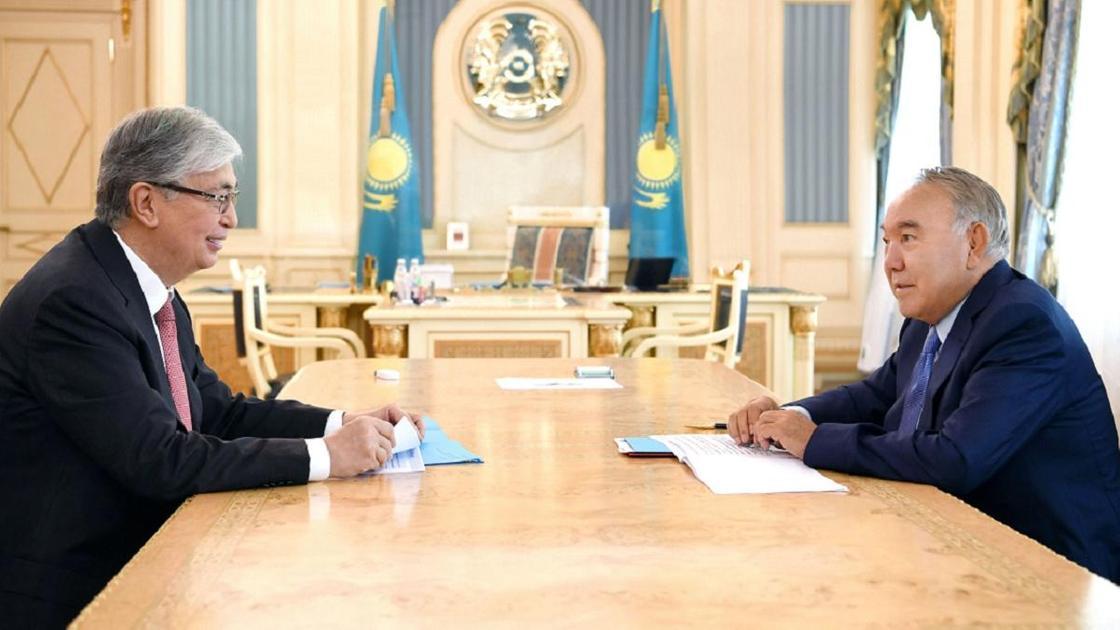 Токаев и Назарбаев