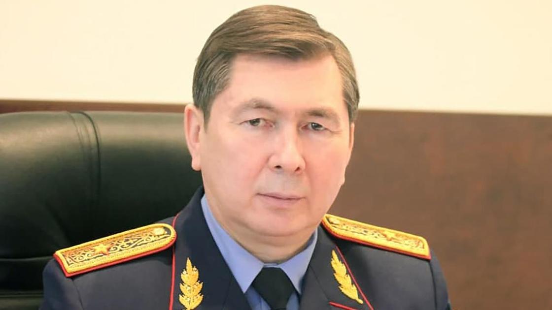 Генерал-майор юстиции Бауржан Бердалин