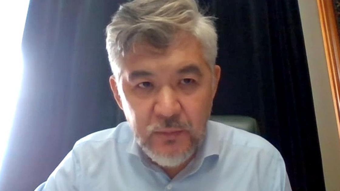 Елжан Биртанов на онлайн-заседании суда