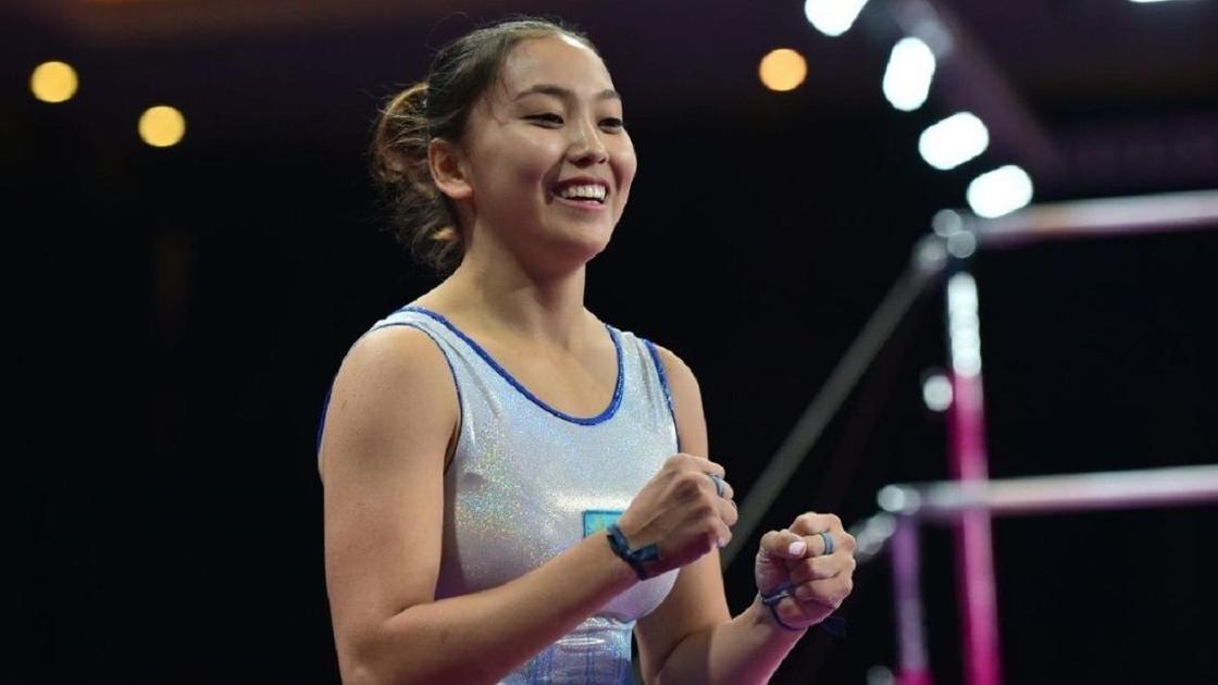 Гимнастка Аида Бауыржанова