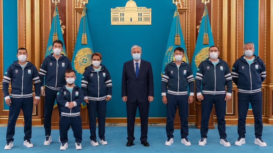 Касым-Жомарт Токаев встретился с членами национальной паралимпийской сборной Казахстана
