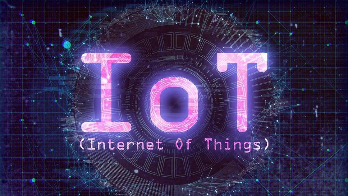 надпись Internet of Things