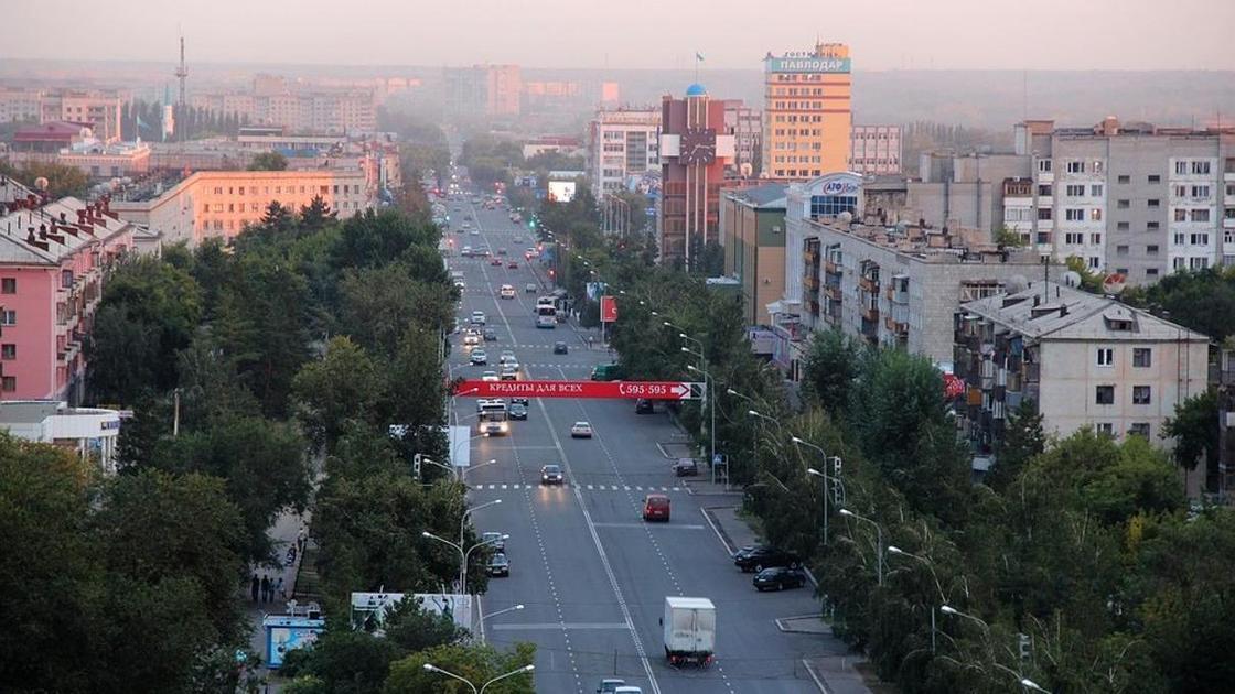 Улицы Павлодара