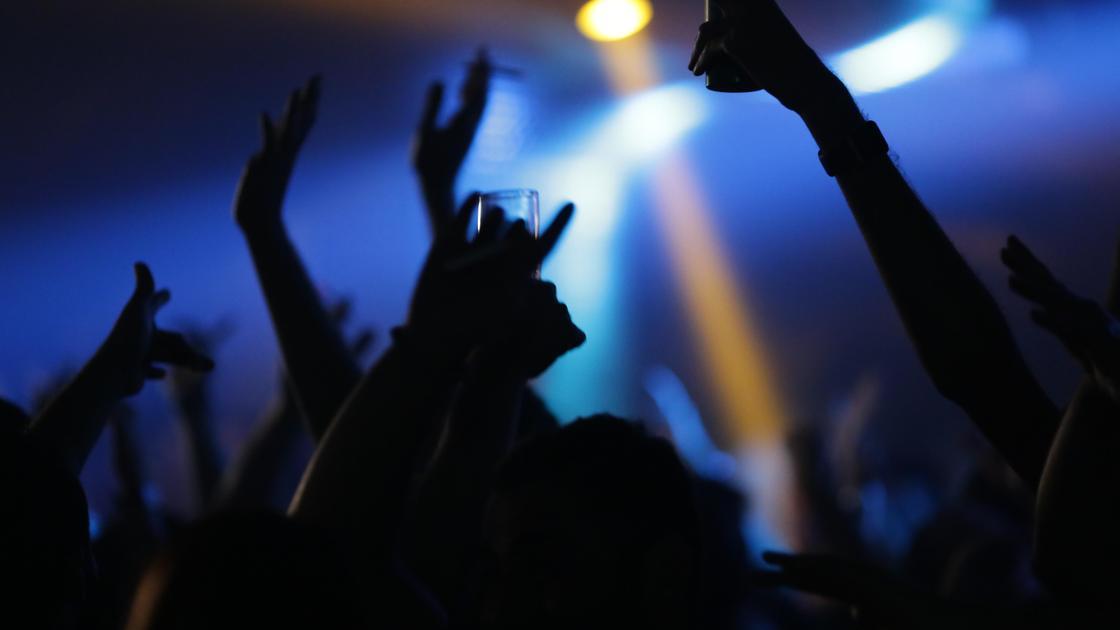 люди веселятся в ночном клубе