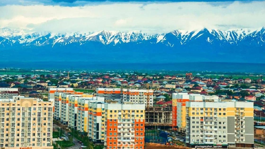 Панорама Шымкента