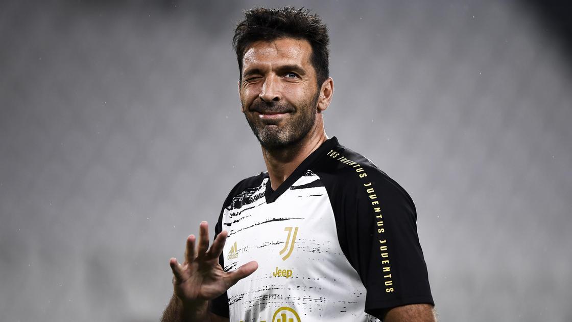Знаменитый итальянский вратарь Джанлуиджи Буффон