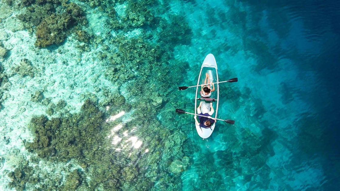 Большой барьерный риф у берегов Астралии