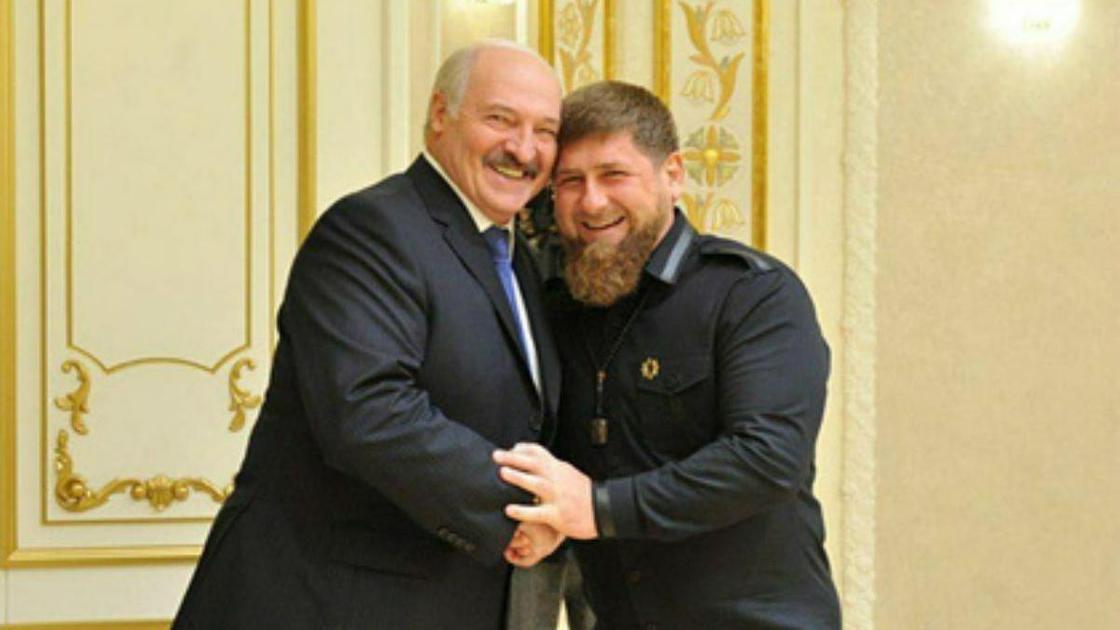 Кадыров поздравил Лукашенко