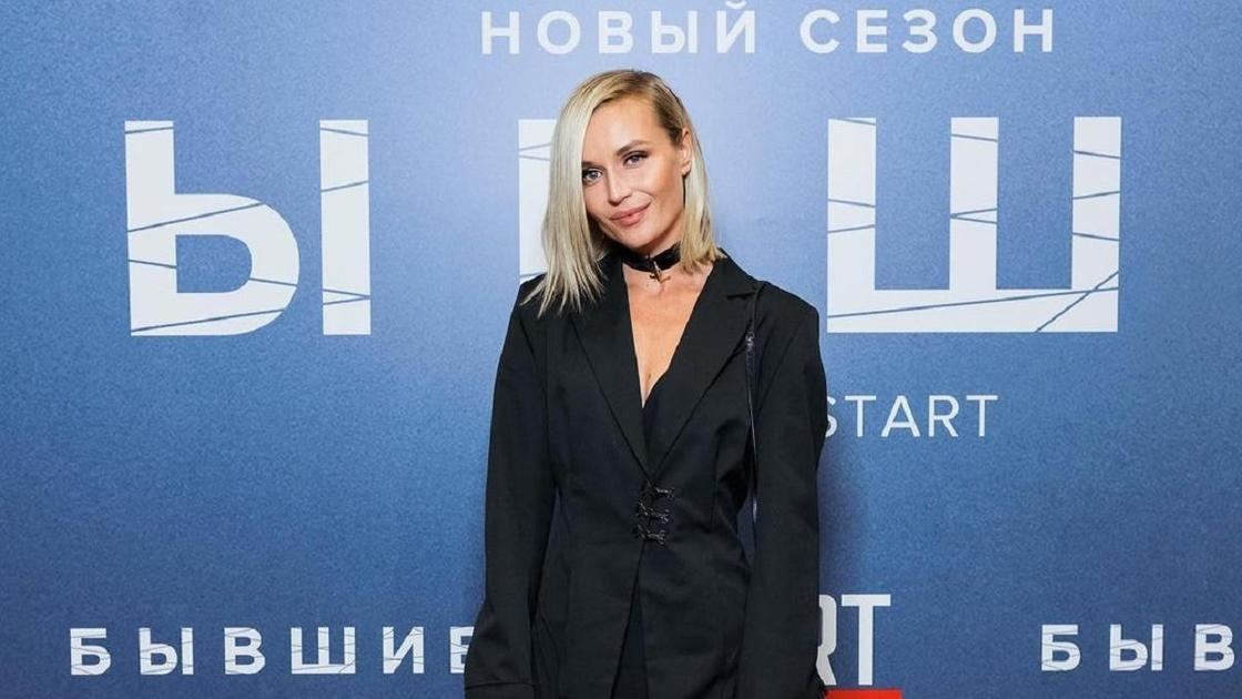 """Полина Гагарина на премьере фильма """"Бывшие"""""""