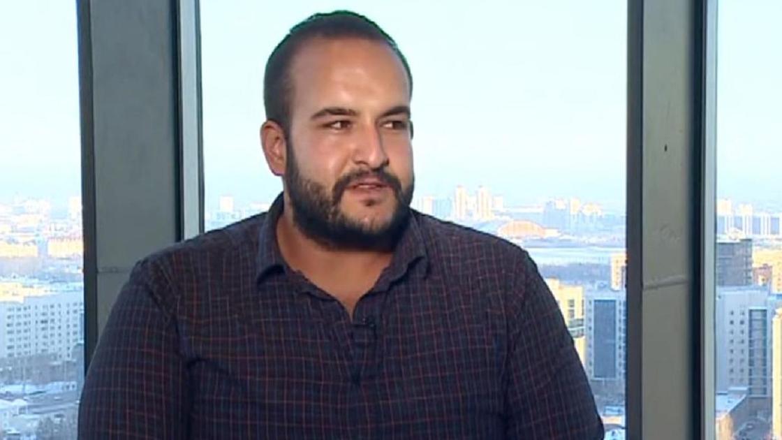 Ахмед Магди дает интервью