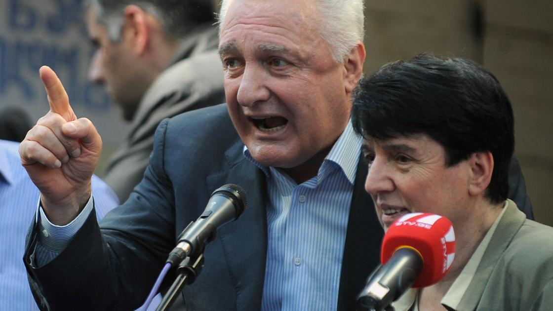 Нона Гаприндашвили и Темур Шашиашвили