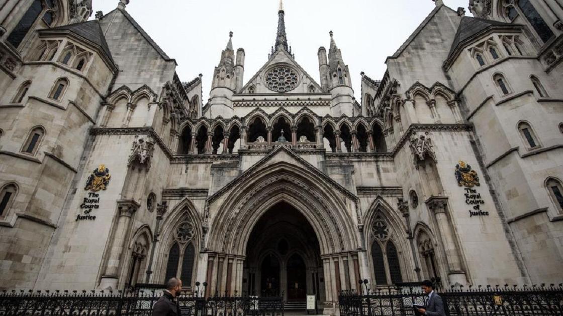 Здание Высокого суда Англии