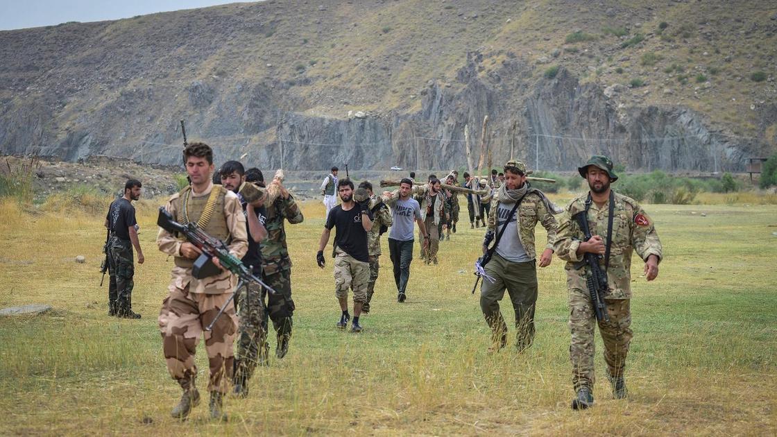 Сторонники сопротивления в Панджшере