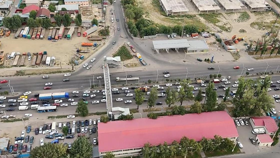Улицы Алматы снятые с высоты птичьего полета