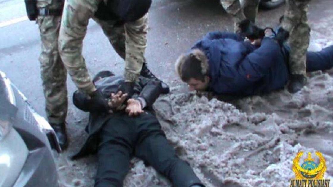 Спецоперация в Алматы