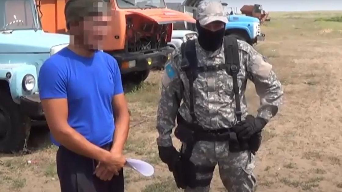 Подозреваемые в убийстве в Карагандинской области