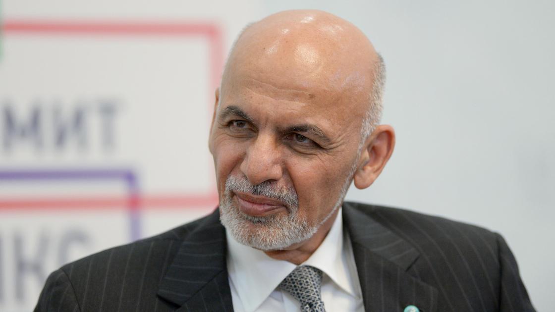 Экс-президент Афганистана Ашраф Гани