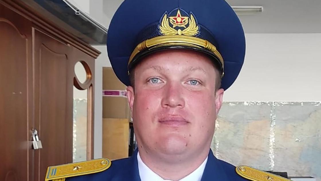 Летчик Нацгвардии Станислав Смурыгин