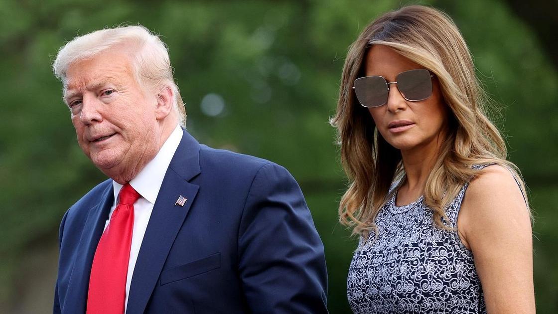 Дональд Трамп және Мелания Трамп