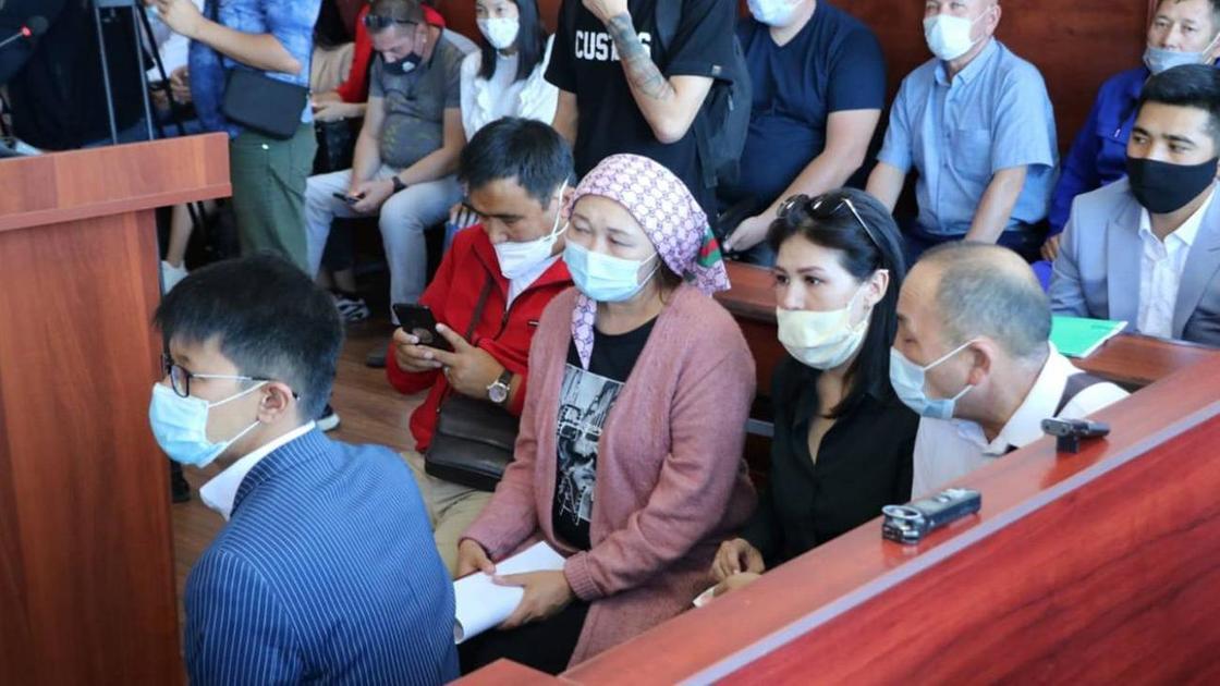 Участники суда над Азатом Азаматовым
