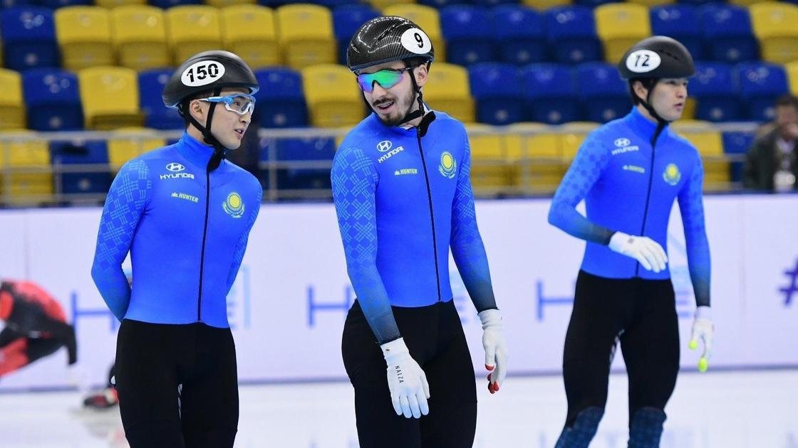 Команда Казахстана по шорт-треку